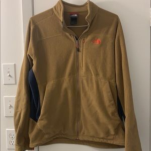 Large the North face tan fleece